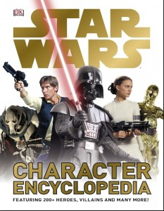 Hardcover science fiction book - Star Wars characters - heroes, villains, and much more